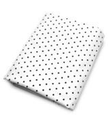 OLLI + LIME Pin Dots Fitted Crib Sheet