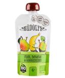 Rudolfs Organic Pear Banana Gooseberry Puree