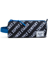 Herschel Supply Settlement Case Roll Call Black, White & Lapis Blue