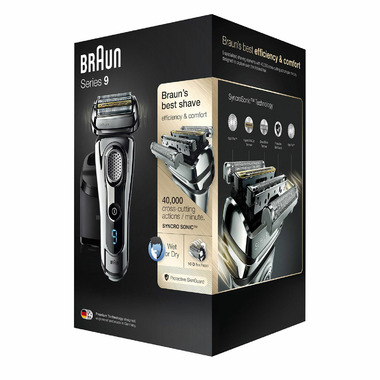 Braun Series 9 9295cc Wet & Dry Shaver with Pop Up Precision Trimmer