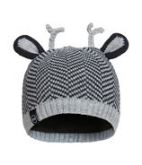 Kombi The Cutie Children Hat Black Chevron