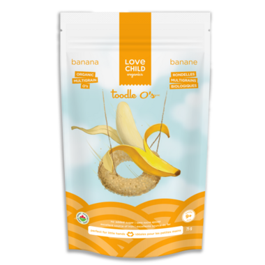 Love Child Organics Multigrain Toodle O\'s Banana