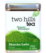 Two Hills Tea Mélange pour Latté Matcha Noix de Coco Biologique