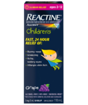 Reactine Child Grape