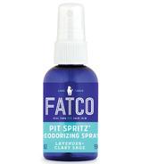 Fatco Pit Spritz Deodorizing Spray Lavender + Clary Sage