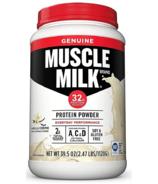 Muscle Milk Genuine Protein Powder Vanilla