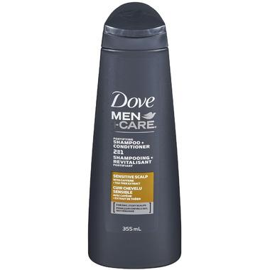 Dove Men +Care Sensitive Scalp Shampoo + Conditioner