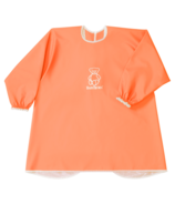 BabyBjorn Long Sleeve Bib Orange