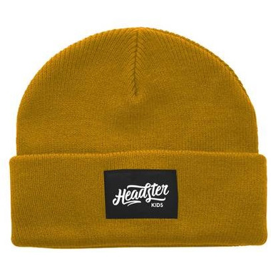 Headster Kids Lil Hipster Mustard Tuque