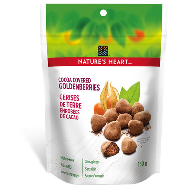 NATURE\'S HEART Cocoa Covered Goldenberries