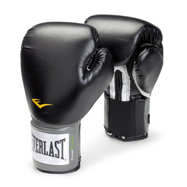 Everlast Pro Style Training Gloves 16 oz Black