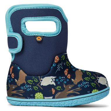 Bogs Baby Waterproof Boots Woodland Friends Light Gray Mutli