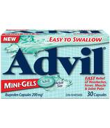 Advil Mini-Gels Ibuprofen 200mg 30 Capsules