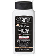 J.R Watkins Men's Sandalwood Vanilla Body Wash
