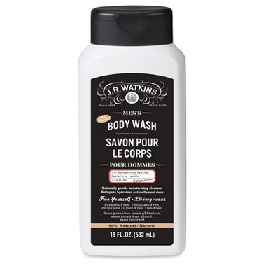 J.R Watkins Men\'s Sandalwood Vanilla Body Wash