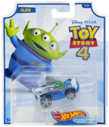 Hot Wheels Toy Story 4 Character Alien