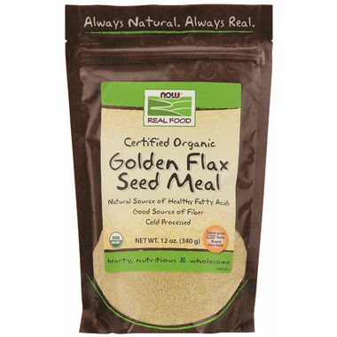 NOW Real Food Golden Flax Seed Meal