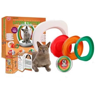 Litter Kwitter 3-Step Cat Training System
