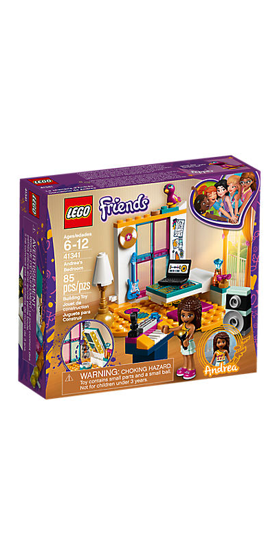 Buy Lego Friends Andreas Bedroom From Canada At Wellca Free Shipping