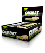 Musclepharm Combat Crunch Protein Bar Case Cinnamon Twist