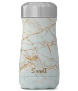 S'well Traveler Stainless Steel Wide Mouth Bottle Calacatta Gold