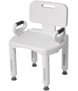 Drive Medical Bath Bench with Back and Arms