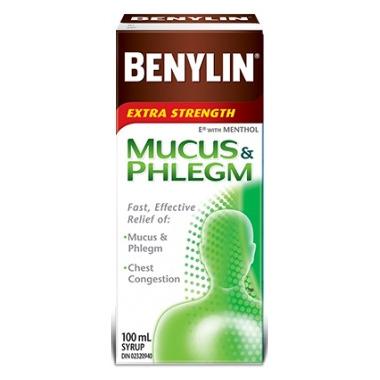 Benylin Extra Strength Mucus & Phlegm Syrup