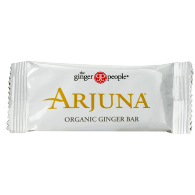 The Ginger People Organic Arjuna Ginger Bar Sample