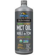 Garden of Life Dr. Formulated 100% Organic MCT Oil