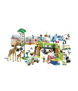 Playmobil Family Fun grand parc animalier citadin