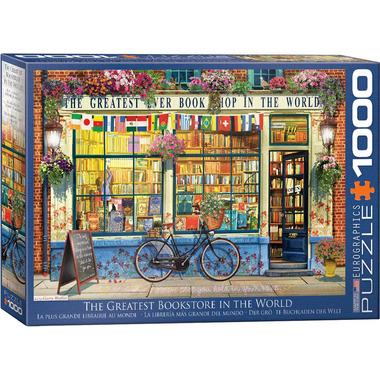 EuroGraphics The Greatest Bookstore in the World Puzzle