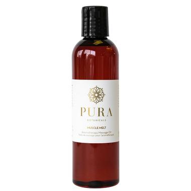 Pura Botanicals Muscle Melt Therapeutic Massage Oil