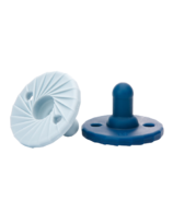 Doddle & Co Tokyo Pop Stage 1 Pacifier Navy and Cloud 9