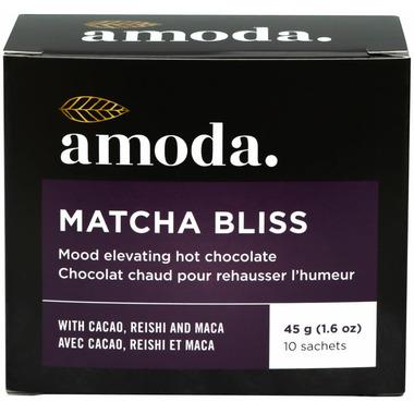 Amoda Matcha Bliss Mood Elevating Hot Chocolate