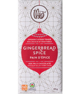 Theo Organic & Fair Trade Gingerbread Spice Milk Chocolate