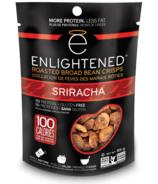 Enlightened Roasted Broad Bean Crisps Sriracha