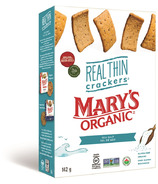 Mary's Organic Crackers Real Thin Sea Salt Crackers