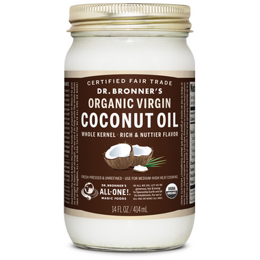 Dr. Bronner\'s Organic Whole Kernel Virgin Coconut Oil