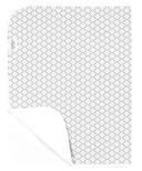 Kushies Deluxe Waterproof Change Pad Ornament Grey