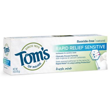 Tom\'s of Maine Rapid Relief Sensitive Toothpaste