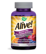 Nature's Way Alive! Women's 50+ Gummies MultiVitamin & Mineral Supplement