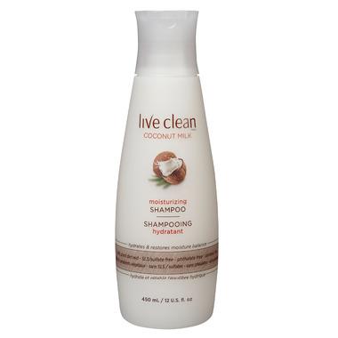Live Clean Coconut Milk Shampoo Limited Edition Bonus Size