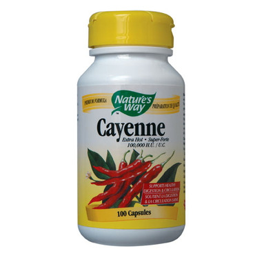 Nature\'s Way Cayenne Extra Hot 100,000 HU