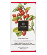Amedei Extra Dark Chocolate with Strawberries Raspberries & Cherries