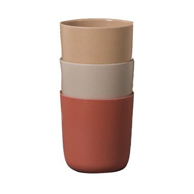 Cink Bamboo Mugs Fog-Rye-Brick