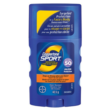 Coppertone Sport Sunscreen Stick SPF 50