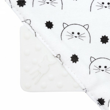 Lassig Little Chums Interlock Bandana Cat