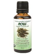 NOW Essential Oils Organic Citronella