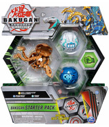 Bakugan Starter Pack Nillious Ultra Armored Alliance Collectible Figures