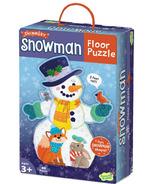 Peaceable Kingdom Snowman Floor Puzzle